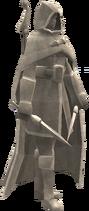 Render statue
