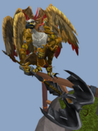 Armadyl on his tower