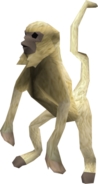 Monkey (beige) pet