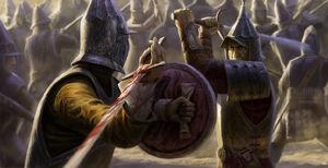 Desert brawl by markbulahao-d5aondq