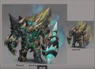 Vorago Power armor obsidian