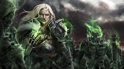 Aralius leads Tamoras' Army