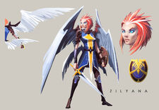 Zilyana concept art