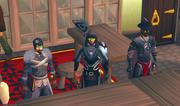 Michael, Arathorn and Kaiser