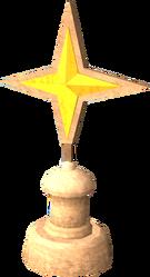 Saradomin star statue