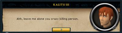 Crazy killing person ahh