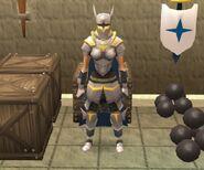 Kelly's combat gear