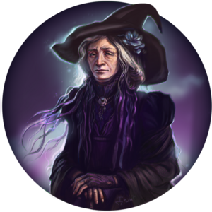Old witch by dina tukhvatulina-d8lyvlx