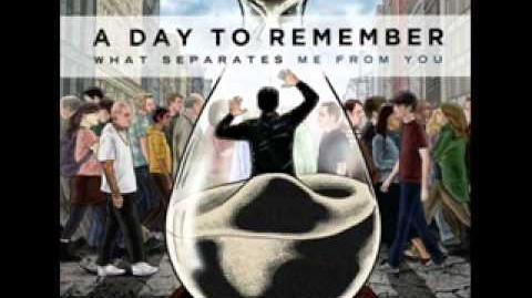 A Day To Remember - You Be Tails, I'll Be Sonic Lyrics