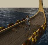 William Preparing to set sail