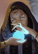 Seraphia spellcasting