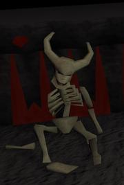 Thammaron skelet