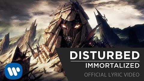 Disturbed - Immortalized Official Lyric Video-1