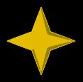 Bright yellow saradomin symbol