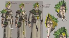 Druid concept art
