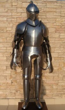 Plate Armour Suit Stationary