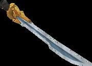 Auspicious katana detail