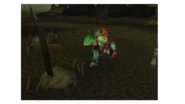 Dark at zammy camp