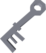 Crystal key detail