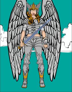 Skyscra Warrior