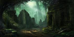 The Ruins of Karamja