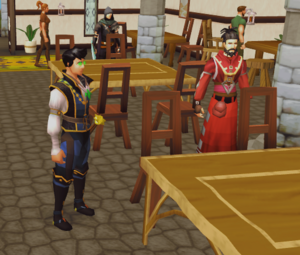 Gabriel meets Galethorn Aren