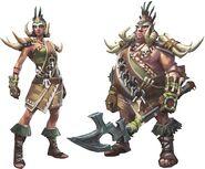 Warlord armor
