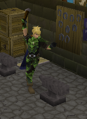 Odin working in Varrock