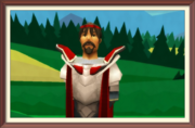 Sir Tain Def Portrait framed