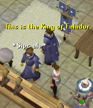 This is the King of Falador