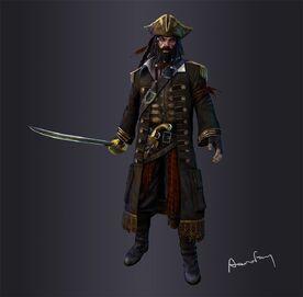 Pirate gamerez render shot by aaronfang art-d36ph52