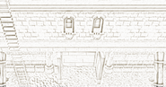 Burthorpe castle entrance