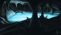 Well of Life (underground lake thingy by blazef)