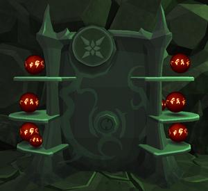 Strithac's Orb Shelf
