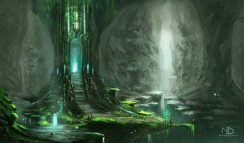 Druidic alter