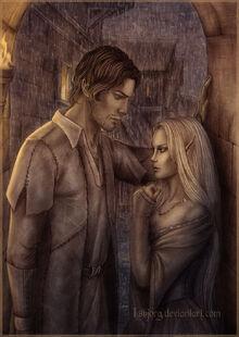 Ariston and Flavia's secret date