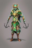 Cadarn ranged warrior concept art
