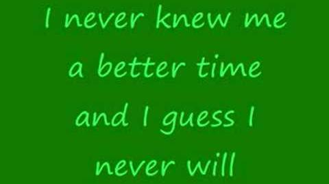 Crocodile Rock-Elton John (lyrics)