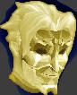 White Cheddar Figurine Chathead