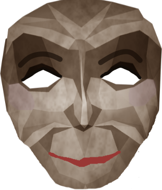 Deborah Doll Mask