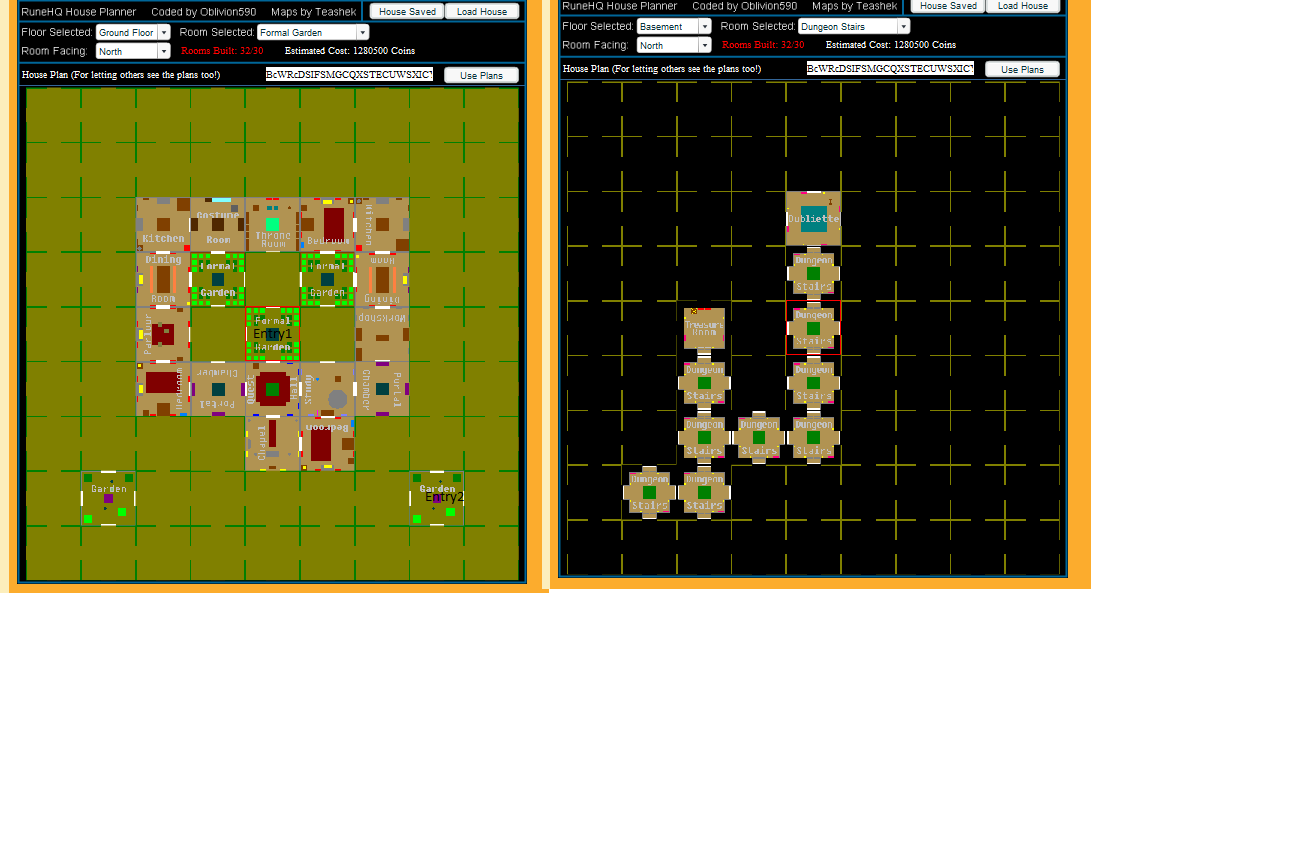house layout runescape. Chance s POH Layout final png Image  RuneScape Roleplay Wiki