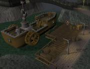 Dwarven steamship