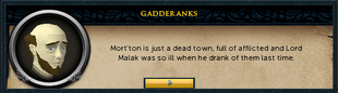 Gadderanks on Malak