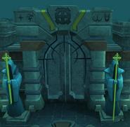Frozen Doorway
