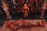 Dharok the wretched.