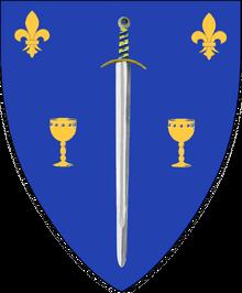 Heraldry of Duke Richard of Aucourte