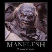 Manflesh orc