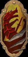 Anti-dragon shield detail