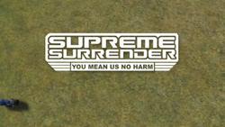 Supreme Surrender