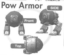 R・TYPE ⊿ POW FrontSideandTopView